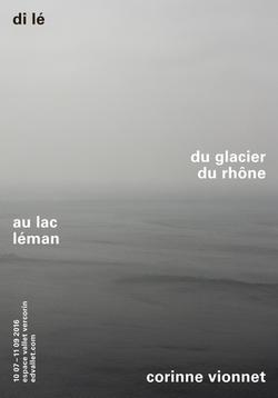 Di le, du glacier du rhone au lac léman.